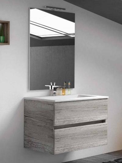 Mobile da bagno ASTRID cm 70x46 grigio cemento