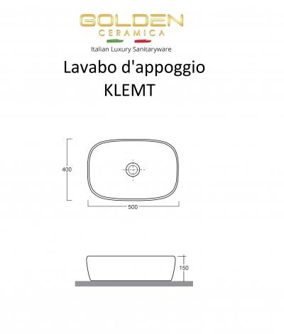 Lavabo da appoggio  KLEMT