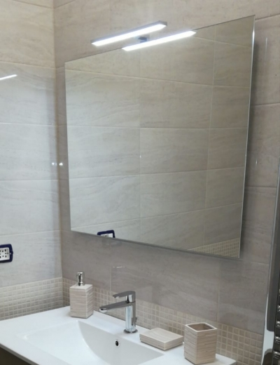 Specchio da bagno 80x60